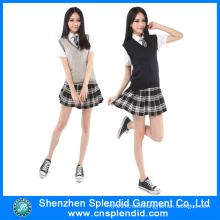 2016 New Patterns Sexy Girls School Uniform Design Skirt