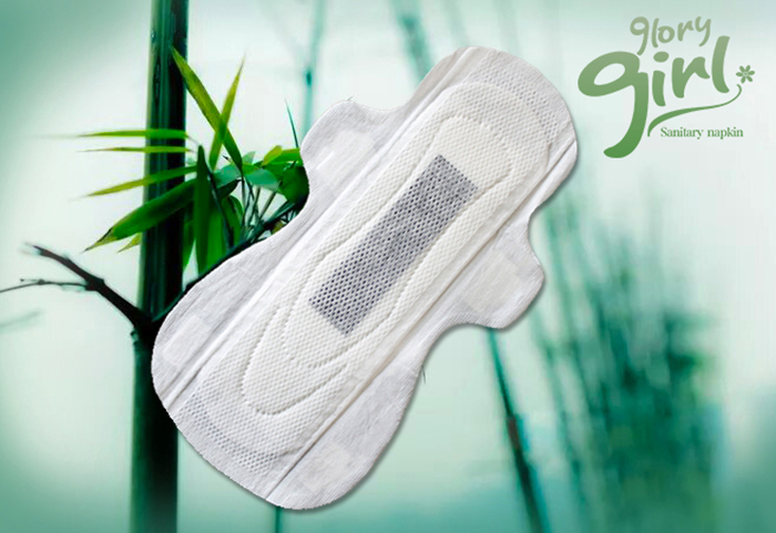Bamboo Charcoal Sanitary Towels