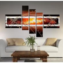 Arte de pintura a óleo quente artesanal venda