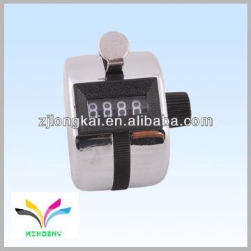 Muslin digital mano contador contra metal clicker