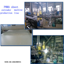 PMMA Transparent Sheet Extrusion Line/PMMA Sheet Extruder  Machine