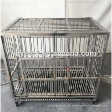 2018 Preço novo da gaiola do animal de estimação do aço inoxidável do design