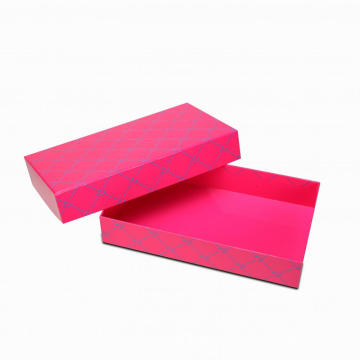 Glossy Empty Rectangle Top dan Bottom Box