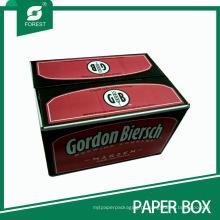 Caixa ondulada resistente da caixa da embalagem da cerveja / vinho