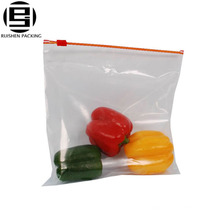 Fridge use food storage packing zip plastic sealed bag