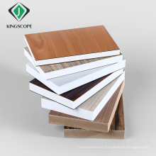 China Manufacturer Kitchen Cabinets Used Skirting Wood Grain Plastic PVC Foam Board