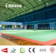 indoor vinyl badminton court floor mats