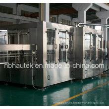 Máquina que capsula de relleno automática de la botella