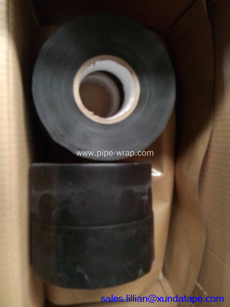 Outer-layer tape with HDPE backing and Butyl rubber adhesive