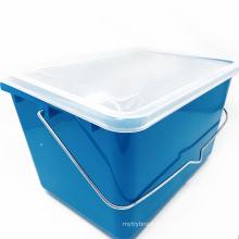 Paint Cleaning tool kit Plastic Paint Square Bucket Kit 10PK