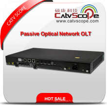 Fournisseur professionnel High Performance 8pon Sorties FTTX Gepon / Gpon Passive Optical Network Line Terminal ONU / Olt