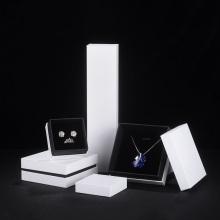 Emballage de papier de boîte de bijoux d'OEM