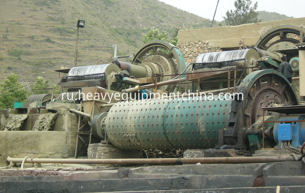 Iron ore beneficiation line