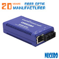 20 anos de fibra optique cabo de suprimentos de fábrica de fibra óptica conversor de mídia conector rj45 sc