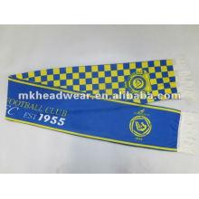 Bufanda de poliéster de dos capas con impresión