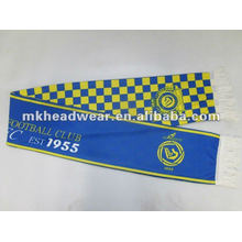 Écharpe en polyester à deux couches avec impression