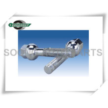 Heat-treatment Wheel lug bolts 17 HEX Wheel bolt with nut