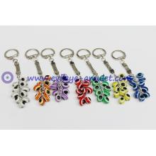 Turkish blue evil eye  grapes keychain