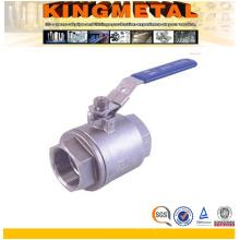1000psi NPT Ball Valve/Stainless Steel 2PC Ball Valves