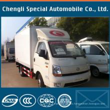 Pequeño Mini 4X2 JAC Quality Engine Refrigerated Van
