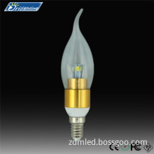 Smart led candle light High efficiency&100% gurantee CE ROHS FCC