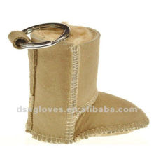 snow boots keyring