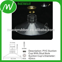 Easy Removed 42mm Suction Cup with Stud Nuts