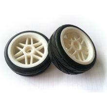 Neumáticos de coche de Rc, ruedas para turismos 1/10