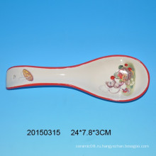 Керамическая ложка с обезьянным дизайном для кухни