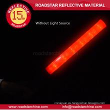 bastón de seguridad del LED de seguridad de tráfico