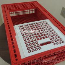 Fabrik Preis Kunststoff Geflügel Transportkäfige für Huhn