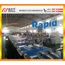 Cup Cake /Bread/Swiss Roll /Chocolate Bar/Cookies Automatic Feeding and Package System