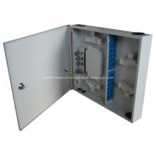 Wall Mounted Indoor Fiber Optical Distribution Box 24 Cores