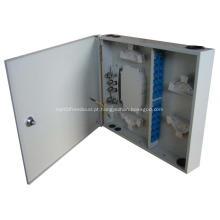 Caixa de distribuição de fibra óptica interna de parede 24 Cores