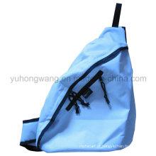 Saco promocional triângulo, mochila de ombro único