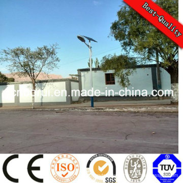 100W LED Solar Street Light with 2PCS*150wp Mono PV Module Panel