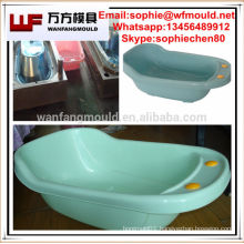 plastic injection mould for baby bath tub/plastic baby bath tub mould with holder
