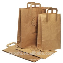 sac de papier recyclé à faible coût