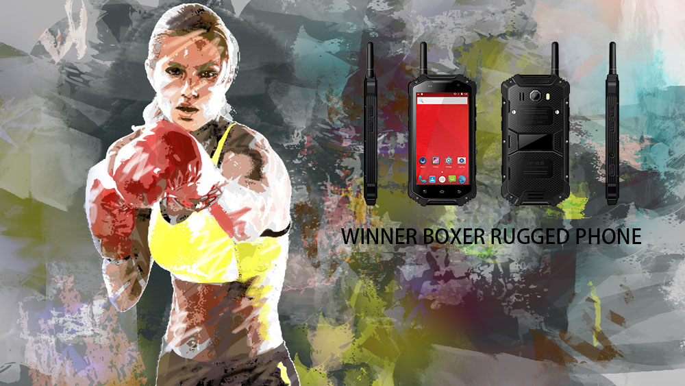 WINNER BOXER RUGGED PHONE