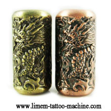 Totem tattoo grip Emboss tattoo tube 20mm grips