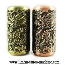 Totem tattoo grip Emboss tattoo tube 20mm grips