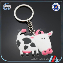 Sedex 4p pvc cow keychain