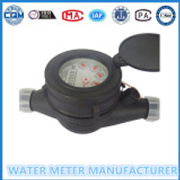 Multi Jet Dry Type Plastic Body WaterMeter