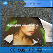 Matériel de publicité 260g polychrome pvc flex bannière impression pour faire du shopping