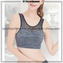 OEM Customized Dri Fit Sublimated Spandex Mesh Sexy Sports Bra