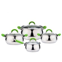 Apple Shape Induction Cooking Pot Cookware Set