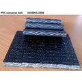 PVC Flame-retardant Solid Woven Conveyor Belt
