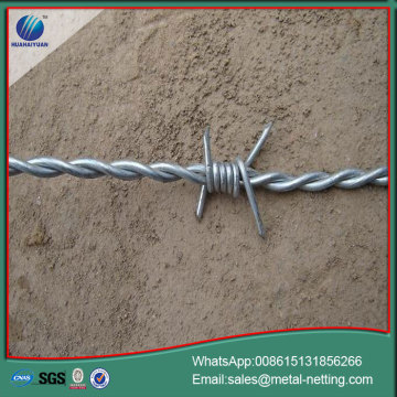 twist barbed wire sharp barb wire coil