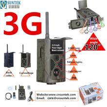 12MP FHD MMS GPRS SMS Command 3G Wild Camera Sin flash WCDMA HC500G para el seguimiento de animales