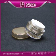 Frascos de forma especial para creme, frasco de pedreiro de plástico de preço baixo